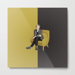 Elen - Celebrity - Oil Paint Art Metal Print