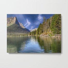 St Mary's Lake - Glacier National Park, Montana Metal Print