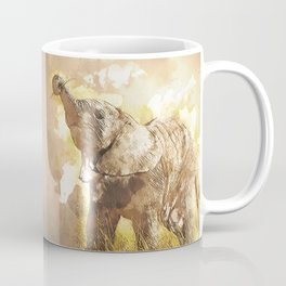 Elephant - It's Tea Time! Coffee Mug