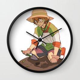 Pidge Gardening Wall Clock