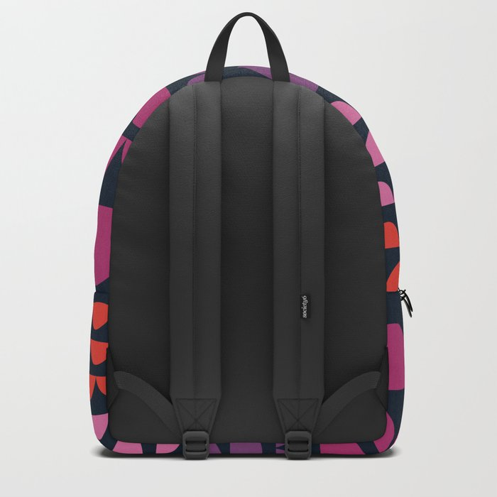 Gee Wiz - retro throwback minimal 70s style classic vibes sunset beach ocean socal 1970's poster Backpack