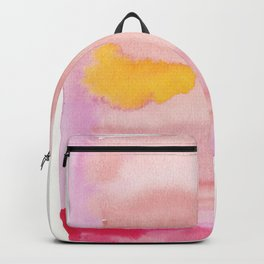 180815 Watercolor Rothko Inspired 10| Colorful Abstract | Modern Watercolor Art Backpack
