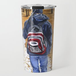 Just Another Winter's Day Travel Mug