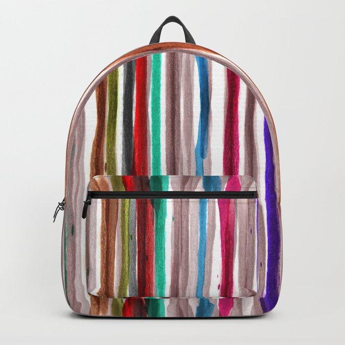Rainbow Stripes 2 Backpack