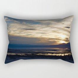 Sunset Salton Sea Rectangular Pillow