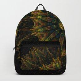 Mandala Organic orange Backpack