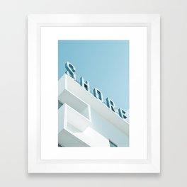 Art Deco Miami Beach #1 Framed Art Print