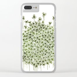 Small Game: Find Me If You Can ! (Clover) Clear iPhone Case