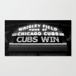 Cubs Win Canvas Print
