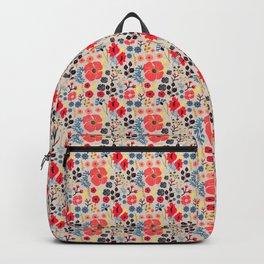 Summer Flowers - Pattern Backpack