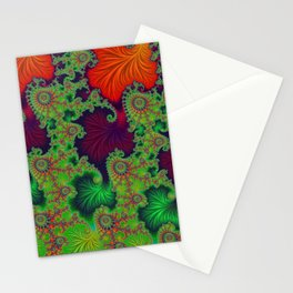 Psychadelic Centerpiece - Fractal Art Stationery Cards