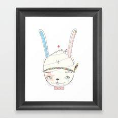 うさぎドロップ [Usagi doroppu] 토끼드롭 Framed Art Print