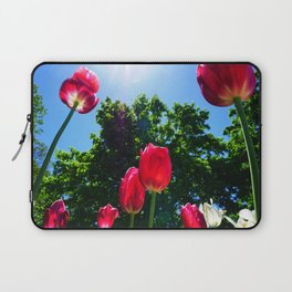 Skyward Tulips Laptop Sleeve