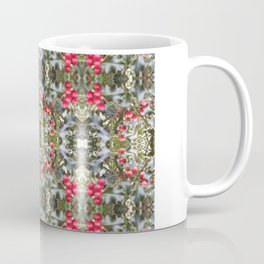 Very Berry Holly Christmas Multi Fractal from Photo 804 Coffee Mug