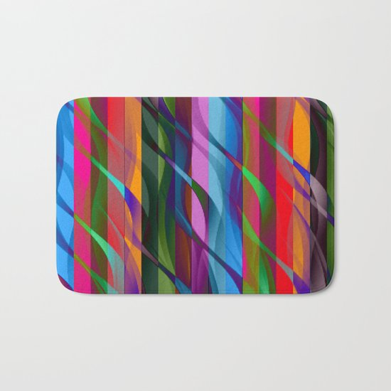 Streamers Bath Mat