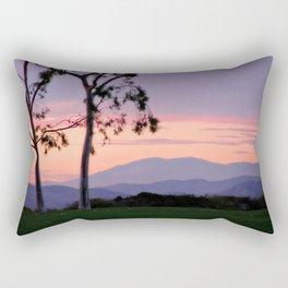 Saddleback Sunset Rectangular Pillow