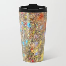 Aftermath of a Color Explosion Travel Mug