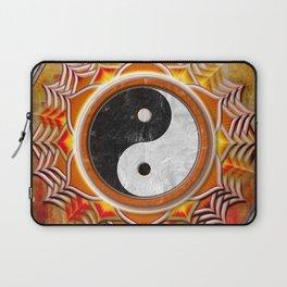 Yin Yang - Healing Of The Orange Chakra Laptop Sleeve