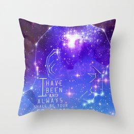 Always your friend, Spock Throw Pillow