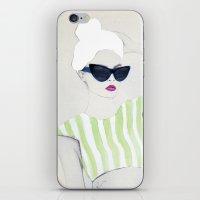 velvet underground iPhone & iPod Skins featuring Velvet by Jenny Liz Rome