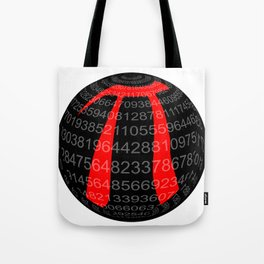 Pi Isolated Sphere Tote Bag