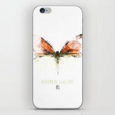 Butter flies - Hebomoia_Leucippe iPhone & iPod Skin