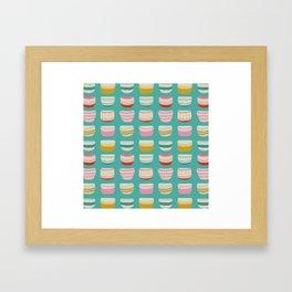 Bowl fabric pattern Framed Art Print
