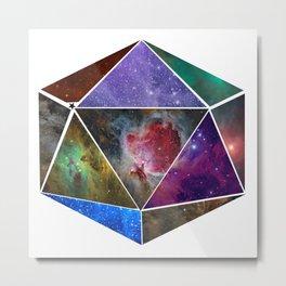 Universal Geometry no.2 Icosahedron Metal Print