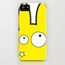 Bunny Star iPhone Case