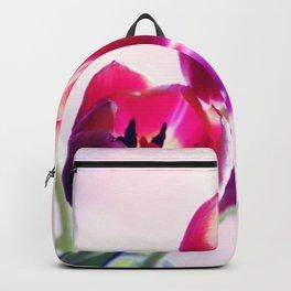 Happy Tulip Greetings Backpack