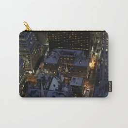 Hidden Christmas Tree in Manhattan at Night Carry-All Pouch