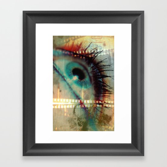 Movie! Framed Art Print