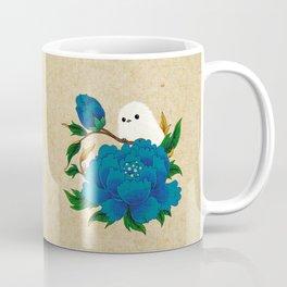 Minhwa: Crow-Tit and Peony C Type  Coffee Mug