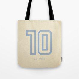 10 El Diez Tote Bag