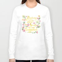 dr seuss Long Sleeve T-shirts featuring Dr. Seuss - Don't Cry by Evie Seo