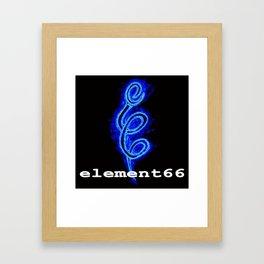 element66 logo Framed Art Print