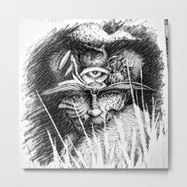 wiseman 2 Metal Print