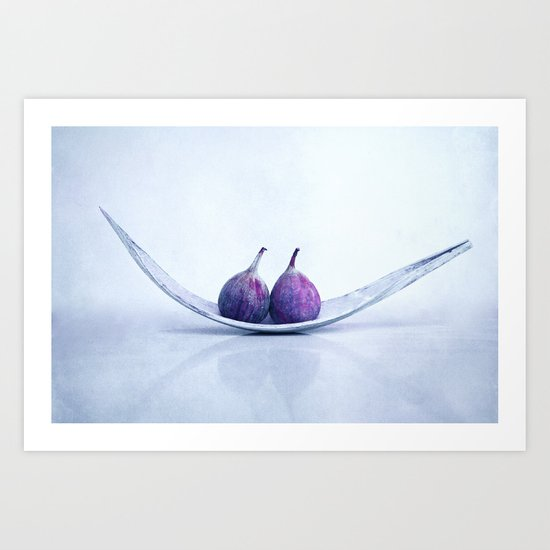 purple fruits II Art Print