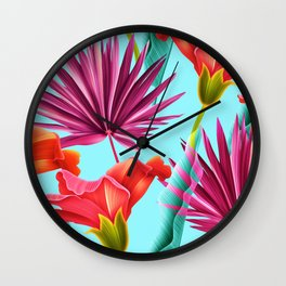 Tropicalist II Wall Clock