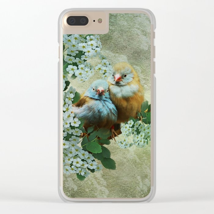 Cordon Bleu Love Clear iPhone Case