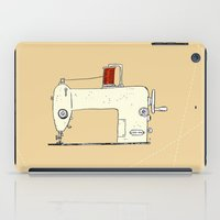 sewing iPad Cases featuring Sewing machine by taichi_k