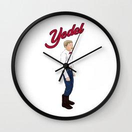 Walmart Yodel Boy Meme Wall Clock