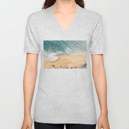 Ocean Swirl Unisex V-Neck