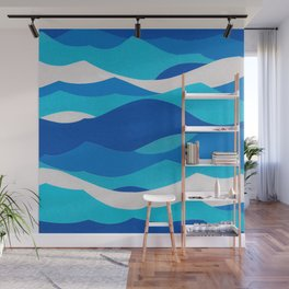 Waves Wall Mural