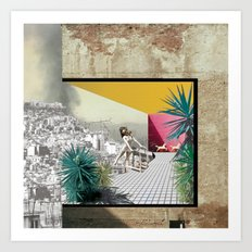 Snorkeling (Urban_Crisis_Resort#3) Art Print