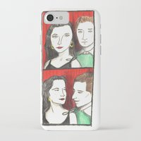 50s iPhone & iPod Cases featuring 50s Photobooth by Feronia Parker Thomas