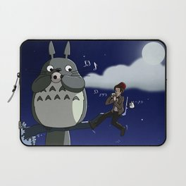Totoro and the Doctor's Midnight Musicale Laptop Sleeve