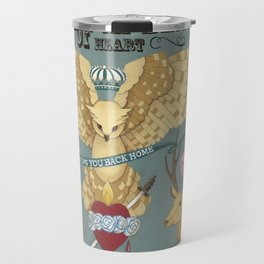 the guards of the beating heart Travel Mug