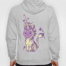 Lilac Cat Wears Tibracorn Onesie Hoody