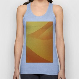Orange Wallpaper Unisex Tank Top